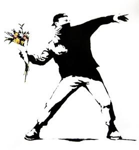Banksy.Flowers